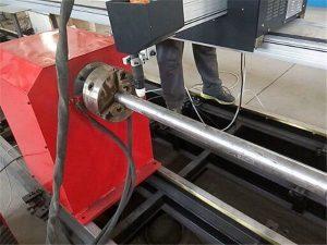 2017. gada jauna portatīvā tipa plazmas metāla cauruļu griezēja mašīna, CNC metāla cauruļu griešanas mašīna