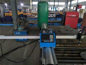 Lēta cena portatīva CNC gāzes griešanas mašīna metāla loksnēm
