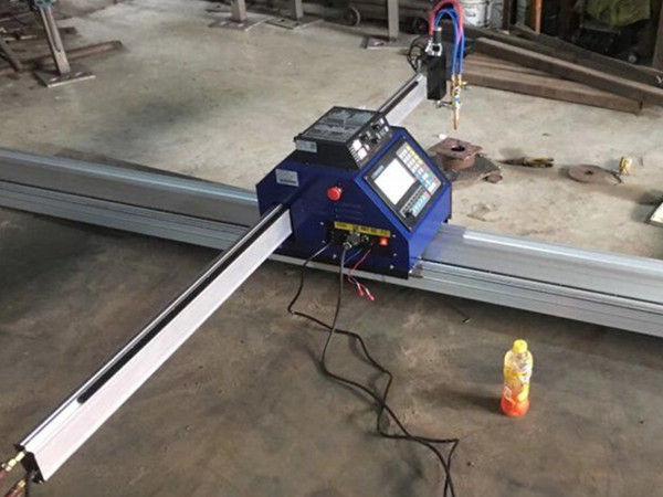 Ķīna Lēta 15002500mm metāla portatīvā CNC plazmas griešanas mašīna ar CE