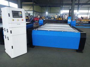 porcelāna cnc plazmas griešanas mašīna hyper 125a bieza metāla loksne 65a 85a 200a pēc izvēles jbt-1530