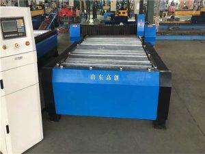 Ķīna Huayuan 100A plazmas griešanas CNC mašīna 10 mm metāla plāksne