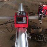 Augstas kvalitātes portatīva cnc plazmas griešanas mašīna / cnc plazmas griezējs nerūsējošā tērauda un metāla loksnēm