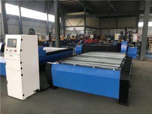 Liela 20006000mm CNC metāla lokšņu cauruļu plazmas griešanas urbjmašīna