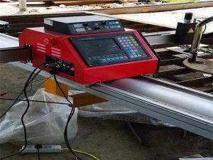 cnc portatīvā skaitliskā griešanas mašīna / metāla plazmas griešanas mašīna