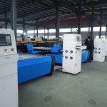 jauna dizaina galda / stenda profila plazmas / liesmas griešanas mašīnu ražotāji cnc darbvirsmas plazmas liesmas griešanas mašīna