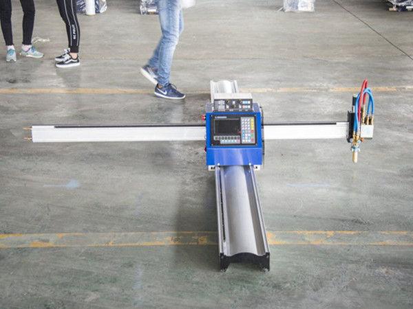 Jaunā tehnoloģija micro START CNC metāla griezējs / portatīva cnc plazmas griešanas mašīna