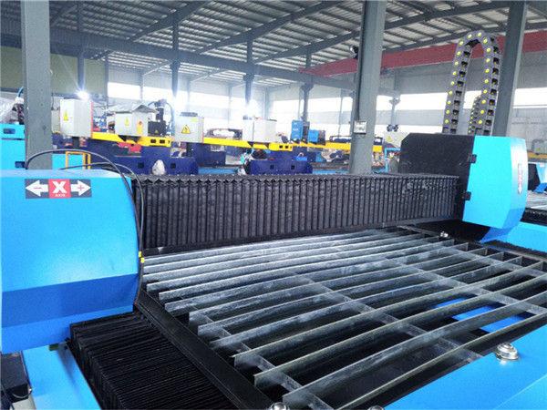 Praktiska un ekonomiska augstas precizitātes veiktspējas metāla apstrādes mašīna, kas ir pārvietojama CNC plazmas griešanas mašīna Zk1530