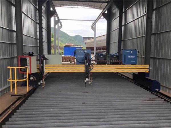 Precīza 13 000 mm precīza CNC plazmas griešanas mašīna ar servo motoru