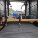 tērauda loksnes 1500x3000mm izmēra cnc plazmas lokšņu metāla griešanas mašīna
