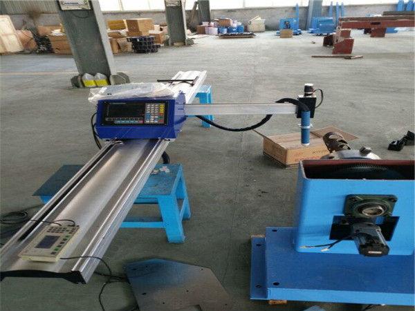 Caurules diametrs ir no 30 līdz 300 pārnēsājama CNC cauruļu griešanas mašīna