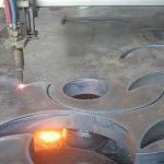 ce Apstiprināta liesmas griešanas lāpas pārnēsājama cnc plazmas griezēja mašīna Ķīnas rūpnīcā