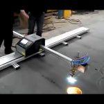 porcelāna ražotāja portatīvā CNK plazmas griešanas mašīna