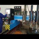 lieljaudas portāla cnc plazmas griešanas mašīnas metāla izgatavošana automatizēta