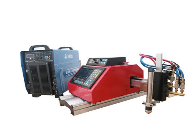 augstas kvalitātes pārnēsājama maza CNC plazmas griešanas mašīna cinkota tērauda loksnei