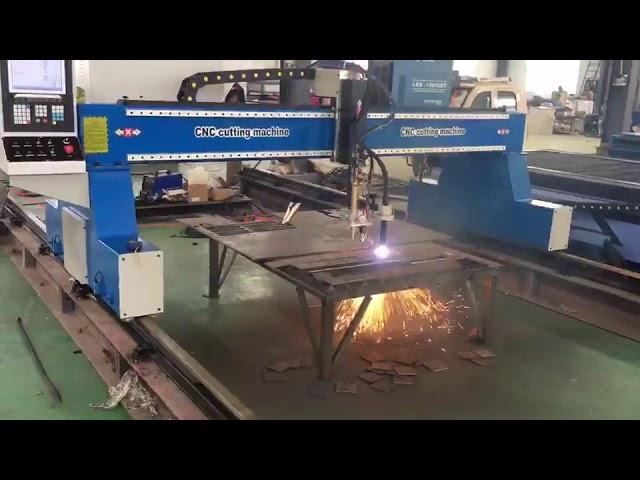 portatīvs cnc portālceltņa plazmas liesmas griešanas mašīna plazmas griezējs