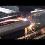 pārdošana cnc plazmas griešanas mašīna ar rotējošu, plazmas griezēju metāla caurulēm